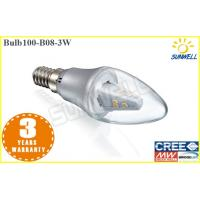 China 220v E14 LED Candle Bulb Gold Color Low watt 3 inch Battery Operated Candles on sale