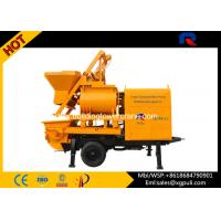 China Concrete Mixer Trailer 800L Feeding Volume With Twin Axle For Building wholesale