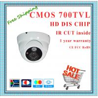 China 700TVL BYD Color CMOS camera with IR-CUT metal Dome security camera surveillance Camera array outdoor CCTV Camera wholesale
