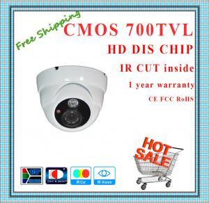 China 700TVL BYD Color CMOS camera with IR-CUT metal Dome security camera surveillance Camera array outdoor CCTV Camera wholesale
