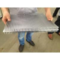 China 6061 T66 400MM Width Aluminum Extrusion Heat Sink CE SONCAP ISO RoHS TUV wholesale