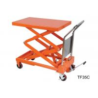 China Electric Stationary Hydraulic Lift Table Double Scissor Lifting Equipment wholesale