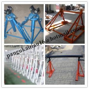 China factory Hydraulic Cable Jack Set,Cable Drum Jacks,Use Mechanical Drum Jacks wholesale