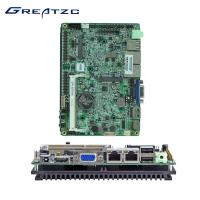 China Dual Core CPU 3.5 Inch Motherboard 2 LAN Ports , Atom Processor Motherboard  wholesale