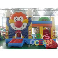 China Clown Colorful Inflatable Bouncer Combo Multiply Jumping Castle For Kid wholesale