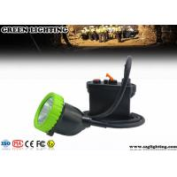 China IP67 11.2Ah 5W Cree Mining Cap Lights Four Color Lighting ATEX Approved wholesale
