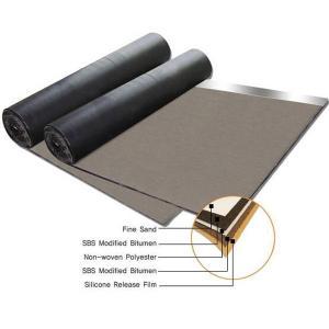 China Non woven compound glassfiber mat SBS modified bitumen waterproof membrane wholesale