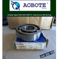 China Deep Groove NSK Ball Bearings 6305 C3 with High Speed ABEC-1 for Automotive wholesale