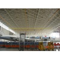 China Safety Prefab Stainless Metal Hangar Buildings Airport Hangar Construction wholesale