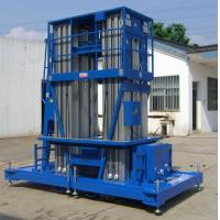 China Rated Load 150 kg Hydraulic Lift Platform for Working Height 16 / 18 m wholesale
