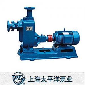 China ZW Self-priming Non-clogging Sewage Pump wholesale