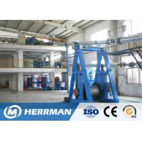 China Cantilever Type Rubber Extrusion Line , Cable Vulcanizing Machine 300kg/H Max Output on sale