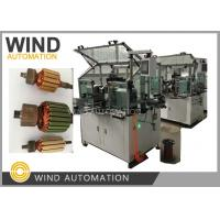 China Conventional Commutator Armature Coil Winding Machine Dual Flyer For Slot Com Rotor wholesale