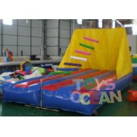China Jacob's Ladder Interactive Inflatable Climbing Game 6x3m For Single Player wholesale