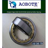China Food & Beverage NSK NU220ECM Cylindrical Roller Bearings With Brass Cage wholesale