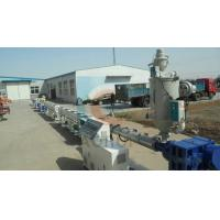Quality HDPE Electric Water Pipe Plastic Extrusion Machine , PP Drainage Pipe Extruder for sale