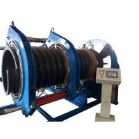 China 600MM Butt Fusion Welding Corrugated Pipe Welding Machine For Spiral Texture PE Pipe wholesale