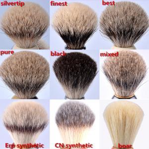 Quality Custom  makeup synthetic bristle shaving brush , mens shaving gift for sale
