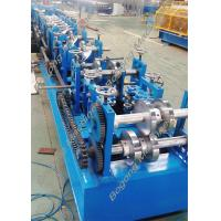 China Custom Steel Frame Purlin Roll Forming Machine 18.5KW Driving Motor on sale