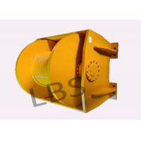 China Engineering 10 ton Winch Drum & 0.8 ton Single Rope Tension with One Year Warranty wholesale
