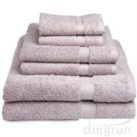 China Dry Fast Absorbent Bath Towels Set For Home / Hotel No Fading , No Pilling wholesale