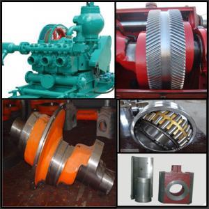 Buy cheap Mud Pump Power End Shaft, Bull Gear,Crosshead, Bearings from wholesalers
