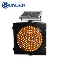 China Warning Strobe Solar 300mm Traffic Light Environmentally - Friendly With PC Material Housing wholesale