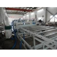 China Conical Twin Screw Plastic Extruder , WPC Board Production Line wholesale