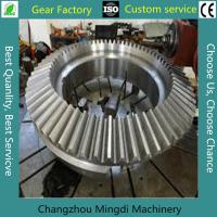 China Alloy Steel Bevel Gears Industrial Spur Gears CNC Milling Straight wholesale
