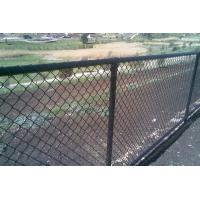 China Black PVC Coated Chain-Link Fence/Cyclone 2.1m*15m*50mm*3.3mm*52.8kg wholesale