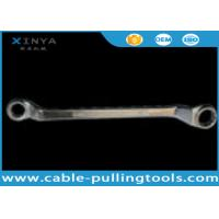 China Alloy steel Carbon Steel Double Offset Ring Spanner Wrench to tighten the bolt wholesale