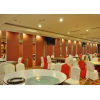 China Hotel Steel / MDF Sliding Glass Doors  For Huge Stadium Single Or Double Door on sale