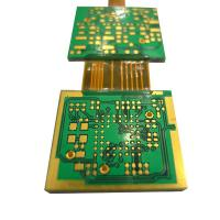 China Circuit Boards Rigid Flex PCB Green Solder Mask FR4 Polyimide Material Thickness 1.6mm wholesale