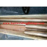 China SGS / BV / ABS / LR CuNi 70/30 Seamless Copper-Nickel Tube  For Air Condition wholesale