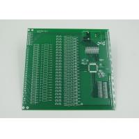 China Silver Plated Impedance Controlled PCB with 2mil Trace Green Solder Mask wholesale
