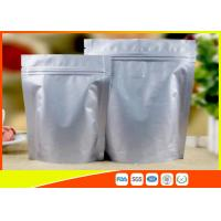 China Heat Seal Coffee Packaging Bags Food Grade Side Aluminum Foil Coffee Bags With Valve on sale