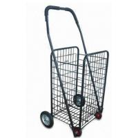 China Folding Rolling Supermarket Shopping Carts, grocery cart collapsible shopping cart 4 Wheel wholesale