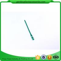 China 13cm Climber Adjustable Plastic Garden Ties Green Color Hold Plants wholesale