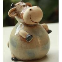 China CREATIVE GIFT CERAMIC COW PIGGY BANK HOME CRAFTS wholesale