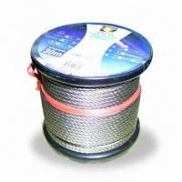 China Stainless Steel Wire Rope with 304L and 316L with Custom Made Label wholesale