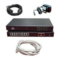 Buy cheap Analog Voice Gateway 4 FXS FXO channel VOIP IPPBX 2 * 1000M ethernet port from wholesalers