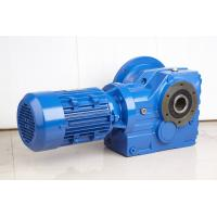 China High Efficiency Helical Bevel Geared Motor Hollow Shaft Gearbox With IEC Or NEMA Motor wholesale