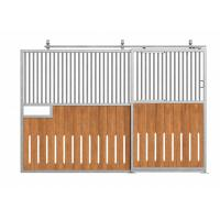 Buy cheap Movable Sliding Horse Stall Doors Hot Dip Galvanized Finish Surface from wholesalers