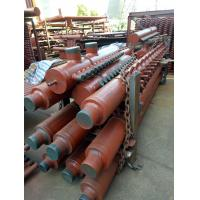 China Industrial Steam Boiler Manifold Headers , CFB Boiler Header With Longitudinal Welded Pipe wholesale