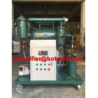 Buy cheap Portable transformer vacuum oil purifier insulating oil treatment machine used from wholesalers