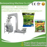 China New design green leafy vegetable salad weighting and packaging machine,with vegetable washing and cuttingmachine wholesale