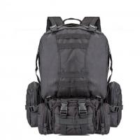 China 55L Multi Function Sport Tactical Day Pack Water Resistant Camouflage For Hiking Camping wholesale