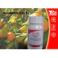 China Deltamethrin 2.5% EC Pest control insecticides 52918-63-5 wholesale
