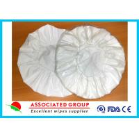 China White Unscented Disposable Rinse Free Shampoo Cap Shampoo Condition Added wholesale