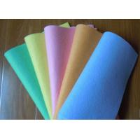 China Super water absorbing Needle punched nonwoven cleaning wipes 40*40cm wholesale